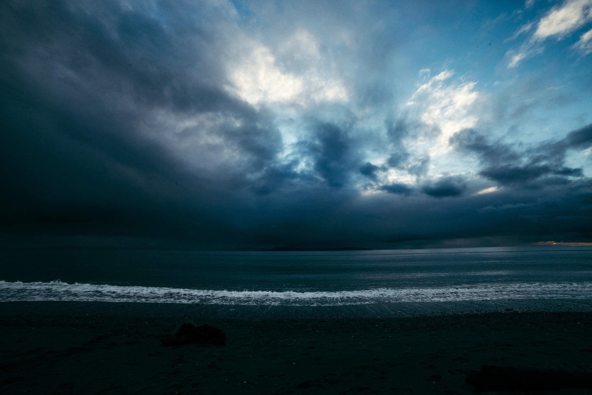 The Confluence of Light and Dark/Water and Sand/Life andDeath